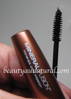 Beauty Au Natural: Mineral Fusion Lengthening Mascara