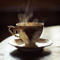 A fresh cup of hot brewed coffee- perfect...