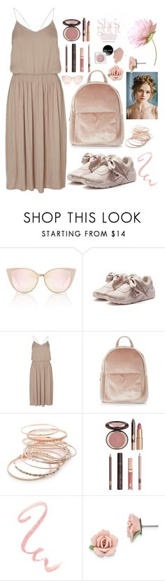 """""""🌸"""" by dayakarda ❤ liked on Polyvore featuring Puma, New Look, Red Camel, Charlotte Tilbury and 1928"""