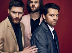 Supernatural in Rogue Magazine Fall Issue #4...