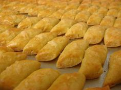 Kaastengels - popular Dutch cookies (Kaastengels are cheese cookies)