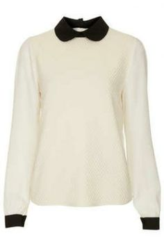 **Amy Textured Blouse by Jovonnista - Tops - Clothing - Topshop » Fashion Social Network | Mixandwear