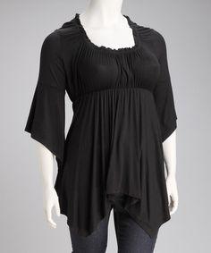 857a750b26f Fresh Fashions  Plus-Size Apparel. Empire Waist TopsBlack ...