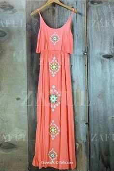 Спагетти ремень Аргайл рисунок вышивки платья