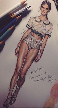 Kai Yoshizumi, fashion designer https://www.instagram.com/kai_luvdrawing #FashionSketches