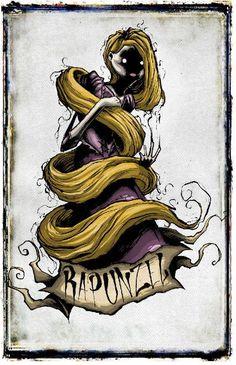 The art of Shawn Coss — Disney Darkness Series Creepy Disney, Disney Horror, Evil Disney, Zombie Disney, Punk Disney, Dark Disney Princess, Dark Disney Art, Disney Fan Art, Creepy Drawings