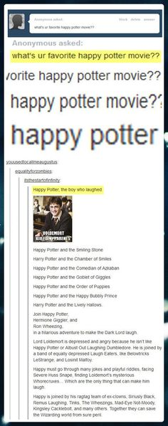 Happy Potter...