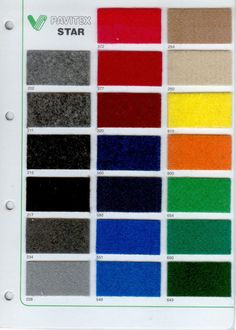 colori moquette