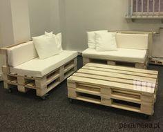 meble - stoły i stoliki-STÓŁ Z palet MAXI