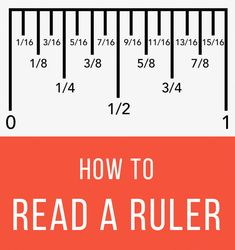 Sewing Tips Helpful Hints Learn how to read a ruler with some great tips for understanding what all the markings mean - How to read a ruler and understand the fraction markings on a ruler. How to use a metric ruler and see decimal to metric conversions. Sewing Hacks, Sewing Tutorials, Sewing Tips, Sewing Basics, Reading A Ruler, Tape Reading, Homeschool Math, Homeschooling, Useful Life Hacks