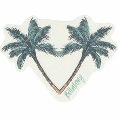 BILLABONG Corazon De Palms Sticker
