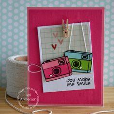 Paper Smooches designer Teri Anderson
