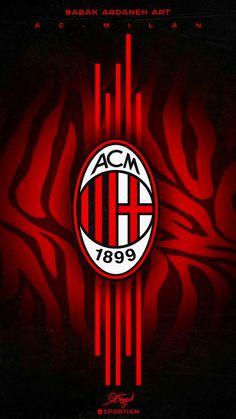 Milan Football, Football Icon, Football Fans, Dark Phone Wallpapers, Sports Wallpapers, Milan Wallpaper, Eminem Photos, Messi And Ronaldo, European Soccer