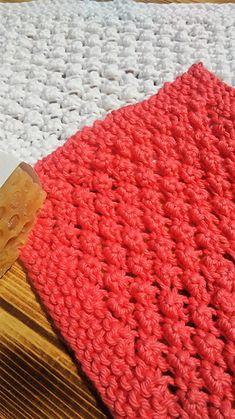 Ravelry: Bubble Washcloth pattern by Kylee Keller