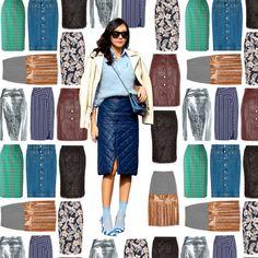 Jupe droite : 20 jupes droites pour être chic et sexy à la fois - Elle