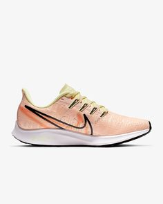Nike Air Zoom Pegasus 36 Premium Rise Women's Running Shoe. Nike.com Nike Running Shoes Women, Nike Air Zoom Pegasus, Prop Design, Snug Fit, Nike Free, Sneakers Nike, Nike Tennis