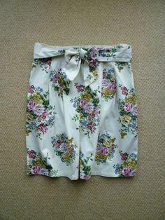Joules Hampton Road Floral Skirt Size 16