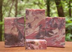 This alluring and sensual soap will be adored by fans of patchouli. It is naturally colored with rose clay and sandalwood powder to enable a cool swirled design. The added hemp oil and goat milk make