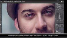 photoshop teknikleri-Photoshop Göz Altlarını Curves Ve Mask Kulanarak Düzeltmesi How To Remove Bags Under Eyes Using Curves Using Photoshop