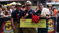 Congrats to the McAllen Fire Department in McAllen, Texas for winning the Good Morning America 5 Alarm Firefighter Challenge and representing Texas! McAllen FD will be donating their winnings to the Texas Line of Duty Task Force.
