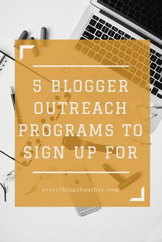 Blogger Outreach Programs to Connect You with Brands