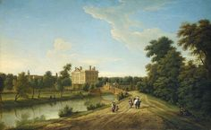 File:George Lambert - View of Dunton Hall, Lincolnshire (1739).jpg