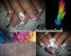 By Reanne at Made You Look  @reanne_madeyoulook #madeyoulook #nailporn #nailswag #nailart