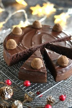 Sweet Desserts, Delicious Desserts, Yummy Food, Tasty, Healthy Cake, Healthy Sweets, Hungarian Recipes, Hungarian Food, Paleo