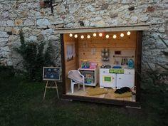 Children garden house