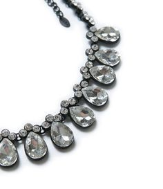 Image 2 of CRYSTAL DROP NECKLACE from Zara
