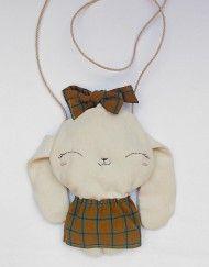 MyCuddle™ - Bunny Bag - Organic Bag - Handmade in Italy with love