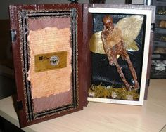 Punk Aspie Art: Fairy specimen-For sale at Brazen Arts gallery in Fallbrook