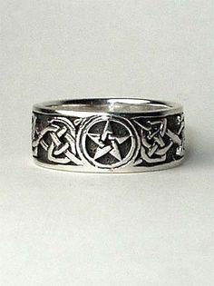 The Mystic Corner - Pentagram Rings, Gold Pentagram Rings ...