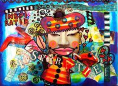 """Art Journal """"Inspiration"""" Annet Raben"""