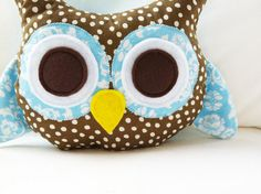 Owl Sewing Pattern  Owl Bookend Or Owl Pillow by GandGPatterns, $8.00