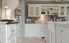 Interior design for elegant, contemporary English living. At Sims Hilditch, we pride ourselves on offering a service that is so much more than interior… Neptune Home, Neptune Kitchen, Aga Kitchen, Country Kitchen, Kitchen Cabinets, Kitchen Ideas, White Cabinets, Kitchen Quest, Cosy Kitchen