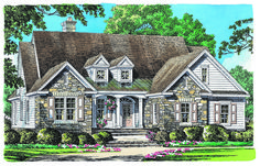 NOW AVAILABLE: Small Craftsman Ranch - Don Gardner House Plans – The Golding Plan is a small Craftsman ranch design with open living and tons of utility space! Check out this three bedroom home design here!