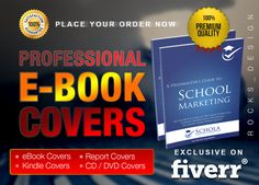 design professional eBook Cover or Kindle Cover by rocks_design