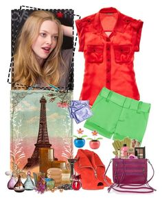 """""""16/50 Set Challenge - Amanda Seyfried"""" by fashionqueen76 ❤ liked on Polyvore featuring WALL, Madewell, Alice + Olivia, Alexander McQueen, Cartier, Two's Company and amandaseyfried"""
