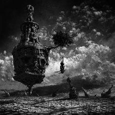 Primal land 4, Bittler Bernard on ArtStation at https://www.artstation.com/artwork/goYvx