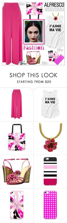 """""""Easy Breezy"""" by atelier-briella ❤ liked on Polyvore featuring River Island, Chanel and Charlotte Olympia"""