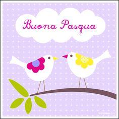 Cartolina di Buona Pasqua