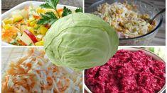Zabudnite na drahé lieky na chudnutie, obyčajná kapusta je hotový zázrak: 15 top receptov na výborné šaláty, ktoré dajú do poriadku postavu aj zdravie! Prosciutto, Cabbage, Salads, Good Food, Food And Drink, Vegetables, Smoothie, Anna, Hampers