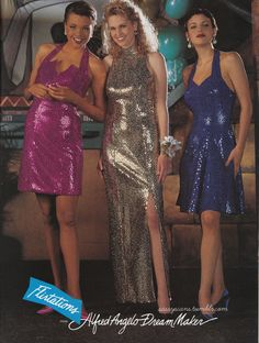 is this really what a 90s prom looked like? jealousssss (1994 sassyscans.tumblr.com)