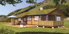 Sande Hus og Hytter AS - Ask Natural Materials, Shed, Outdoor Structures, Log Cabins, House Styles, Building, Homes, Design, Home Decor