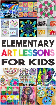elementary art lesson ideas