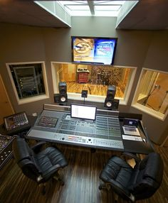 The ultimate home recording studio equipment site. Great deals and huge selection of home recording studio equipment. Home Recording Studio Equipment, Music Recording Studio, Audio Studio, Music Studio Room, Recording Studio Design, Sound Studio, Home Recording Studios, Music Rooms, Audio Equipment