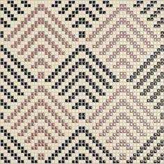 decorative tiles, wall cladding ceramic mosaics by Appiani. Tapestry Crochet Patterns, Weaving Patterns, Mosaic Patterns, Knitting Patterns, Cross Stitch Designs, Cross Stitch Patterns, Cross Stitch Geometric, Graph Paper Art, Idee Diy