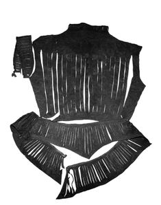 An artisan's leather vest from the 16th century. Found during archaeological excavations at Uus street 5.