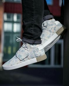 low priced eecdc 7b5f3 Adidas Tubular Invader Strap, White Camo, Adidas Shoes, Men Fashion, Kicks,